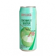 With our okycoco coconut wa...