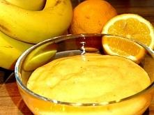 PUREE BANANOWO - CYTRYNOWE, zamiast jogurtu! Przepis na glodnapolka.pl, po kliknięciu w zdjęcie!