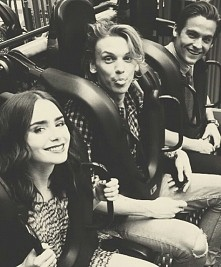 Lily, Jamie i Kevin <3