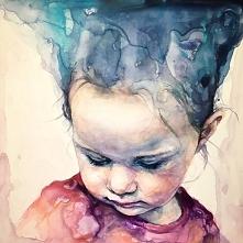 """moj najnowszy obraz """" słuchając bicia twojego serca """""""