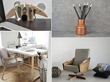 Home office czyli biuro w domu :) Musi być dobrze zaprojektowane, bo to tam spędzamy większość dnia.  Szczegóły po kliknięciu w zdjęcie :)