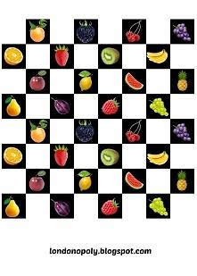 Owocowe szachy- gra do druk...