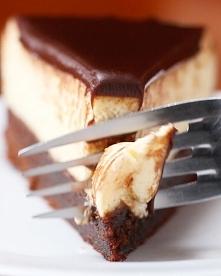 czekoladowy sernik brownie