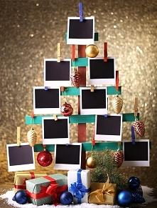 Alternatywna choinka - ozdoba świąteczna typu DIY