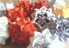 papierowe bombki świąteczne