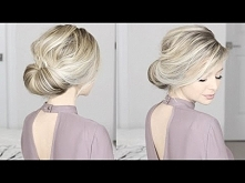 EASIEST Updo ever! Super si...