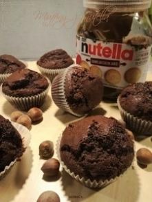 Muffiny z nutellą Przepis p...