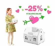 Zabawki z tektury - 25% w s...