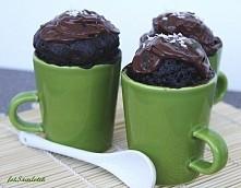 Ciasto w 5 minut  Składniki na 1 filiżankę do herbaty:  4 płaskie łyżki mąki ...