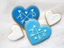 Ciasteczka z personalizacją - możliwa zmiana kolorystyki i motywu :) idealne na podziękowania dla gości weselnych.  Dostępne w sklepie internetowym MadameAllure!