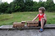 EKO zabawka - Pociąg z tekt...