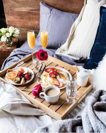 śniadanie Do łóżka Na Domy I Wnętrza Zszywkapl