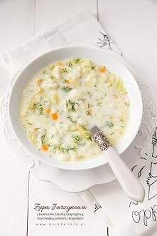 zupa jarzynowa, przepis po ...