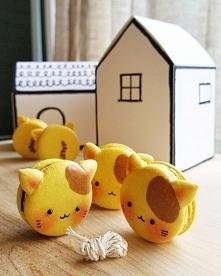 Makaroniki w kształcie słodkich kotków! :3