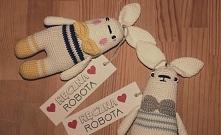 Robótki na drutach i szydełku - etykiety do wydruku :)