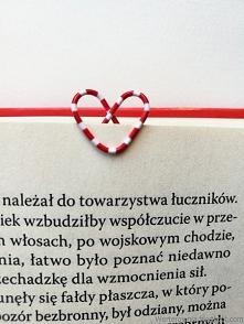 DIY ZAKŁADKA DO KSIĄŻKI - K...
