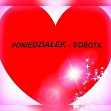 Poniedziałek - Sobota Skoro zbliżają się Walentynki, to i ja mogę przedstawić Wam cudowny związek jaki tworzy ze sobą Poniedziałek i Sobota.  To jeden z tych związków, gdzie obo...