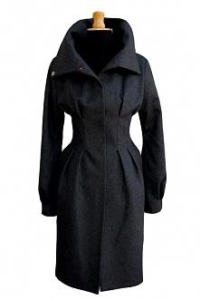 Exclusive wool coat, graphi...