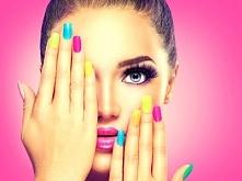 Ten makijaż! I te paznokcie <3