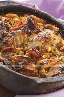 duszony kurczak z warzywami, przepis po kliknięciu w zdjęcie.