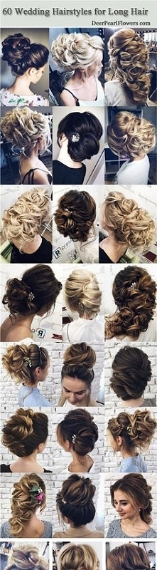 Beautiful wedding hairstyle...