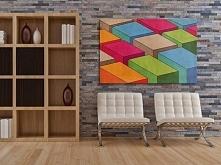 Kolorowe bloki - nowoczesny...