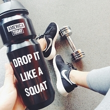 Drop it like a squat.