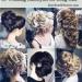 Beautiful wedding hairstyles for long hair <3