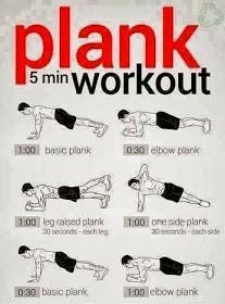 Kolejnym ćwiczenie jakim wykonuje jest Plank, pierwsze sekundy są lajtowe ale potem jest coraz ciężej. Ale warto walczyć o lepsze ciało;)