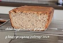 Chleb razowy z mąki gryczanej palonej, przepis po kliknięciu w zdjęcie.
