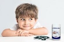 czy dzieci mogą spożywać spirulinę ?