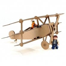 Zabawka samolot z tektury d...