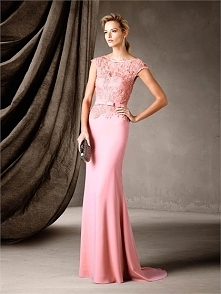 Mermaid Bateau Neckline embroidery Layering Stylish Belt Prom Dress PD3373