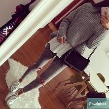 koszula + sweterek :) mm