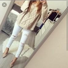znowu białe spodnie
