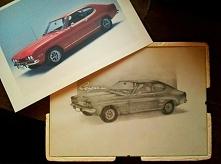 Ford Capri '69 - prezent urodzinowy ;)