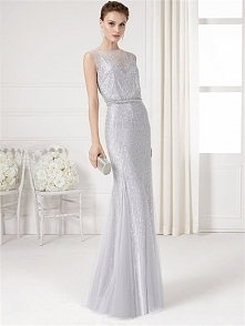 Luxurious Mermaid/Trumpet Sequins silver Formal Dresses PTFD0044