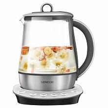SENCOR SWK 1280SS Czajnik elektryczny, urządzenie które pomoże zaparzyć wam każdą herbatę i zioła z odpowiednią temperaturą.  Więcej informacji na blogu, klikamy w fotkę :)