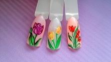 Śliczne, wiosenne tulipany....