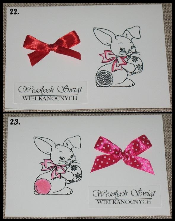 Przygotowania do świąt rozpoczęte, kartki ręcznie wykonane, format A6.