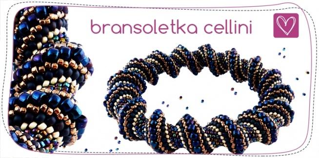 Darmowy kurs tworzenia biżuterii - bransoletka cellini <3.  Kliknij w zdjęcie!