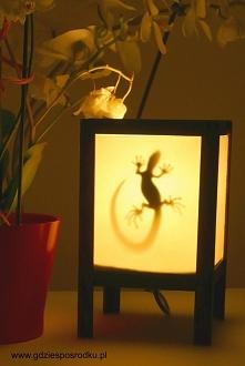 Drewniana lampa :) Zrób to sam  !