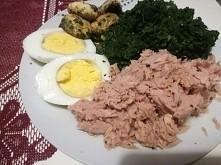 Lekki obiad przed pracą. Moja propozycja na dziś wygląda tak :) a Wy co zdrowego dzisiaj zajadacie?