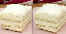 Domowe ciasto Rafaello bez pieczenia - PYSZNOŚCI !! Przepis po wejściu w zdjęcie :)