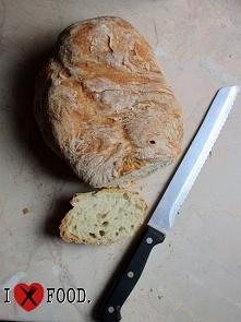 Prosty pszenny chleb. Link do filmiku z przepisem w komentarzu.