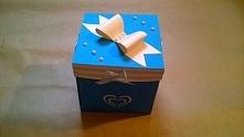 Pudełko explonding  box, wy...