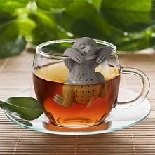 zaparzacz / zaparzaczka do herbaty /  ziół leniwiec