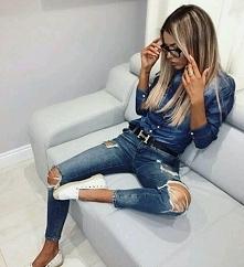 Jeans od marteczka25 z 21 lutego - najlepsze stylizacje i ciuszki