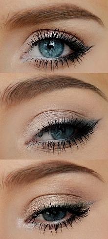 Makijaż w naturalnych kolorach