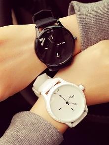 Ślicznie i porządnie wykonane zegarki marki MILER w wersji czarnej i białej. ...